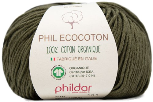 Phildar Phil Ecocoton 1438 Army
