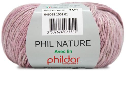 Phildar Phil Nature 1002 Bois de Rose