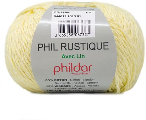 Phildar Phil Rustique 1019 Poussin