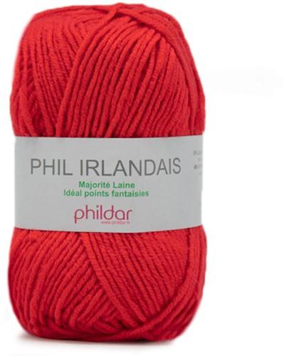 Phildar Phil Irlandais 0115 Vermillon