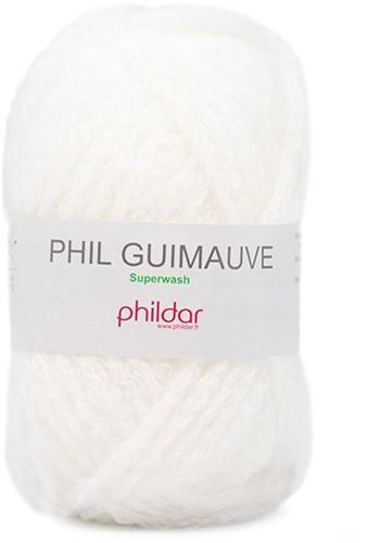 Phildar Phil Guimauve 0043 Blanc