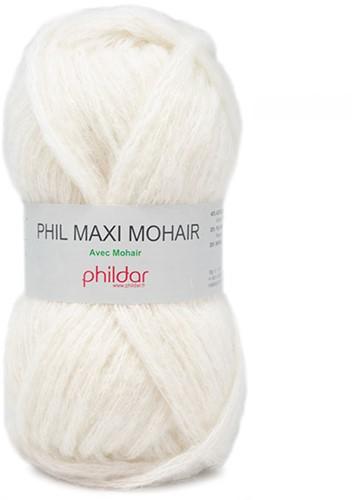 Phildar Phil Maxi Mohair 0061 Ecru