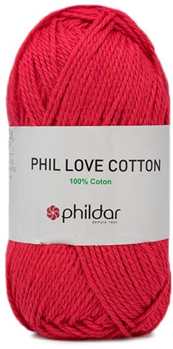 Phildar Phil Love Cotton 1144 Fuchsia