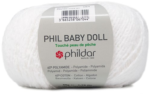 Phildar Phil Baby Doll 1225 Blanc