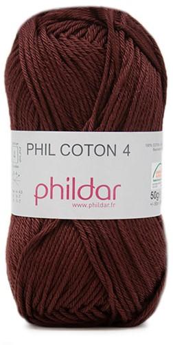 Phildar Phil Coton 4 7 Bordeaux