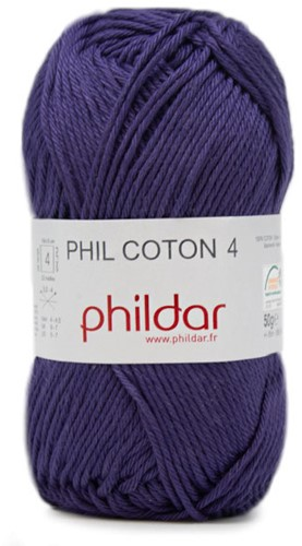 Phildar Phil Coton 4 0102 Encre