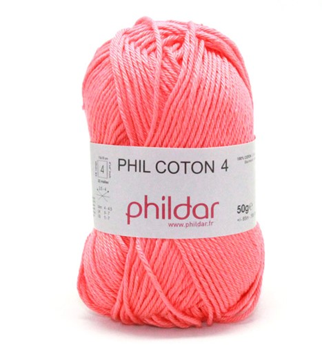 Phildar Phil Coton 4 1268 Corail