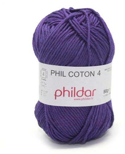 Phildar Phil Coton 4 1349 Violet