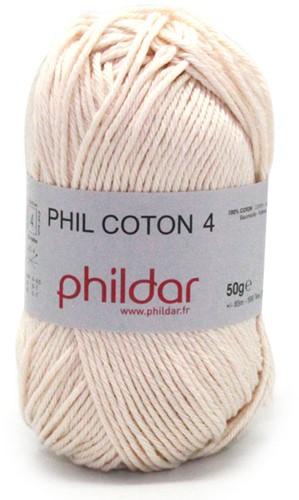 Phildar Phil Coton 4 1359 Ecru