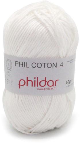 Phildar Phil Coton 4 1397 Craie