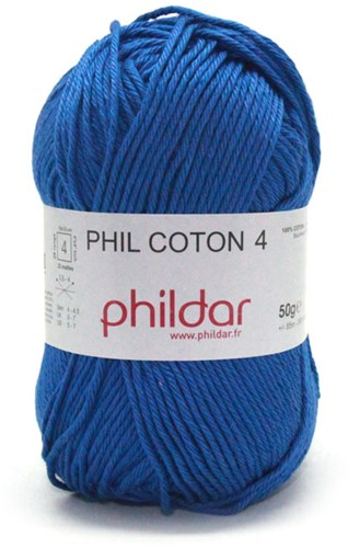 Phildar Phil Coton 4 1410 Outremer
