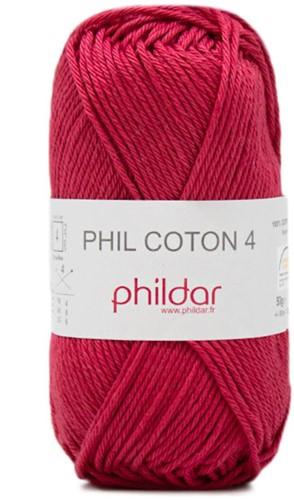 Phildar Phil Coton 4 2144 Framboise