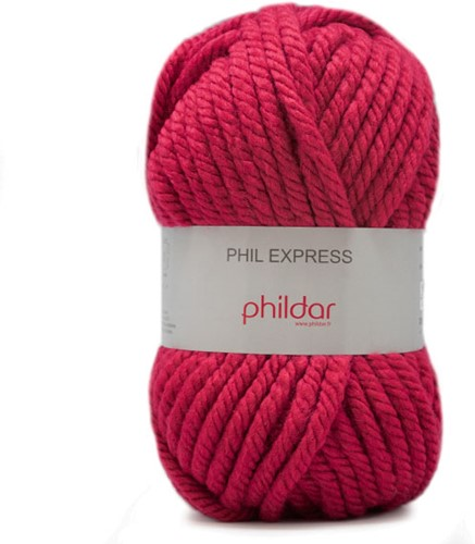 Phildar Phil Express 2149 Framboise