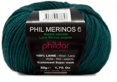 Phildar Phil Merinos 6 1089 Paon