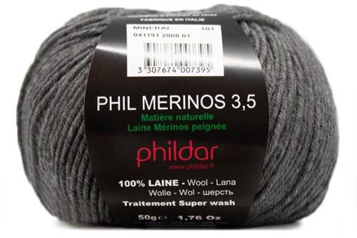 Phildar Phil Merinos 3.5 2008 Minerai