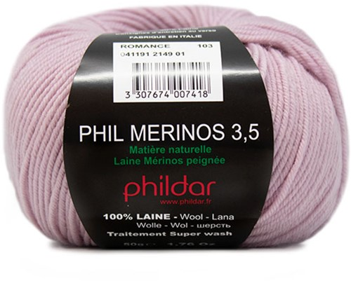 Phildar Phil Merinos 3.5 2149 Romance