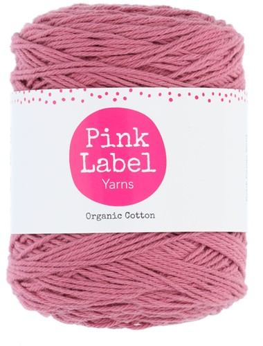 Organic Cotton Mandala Haakpakket 1 Vintage rose