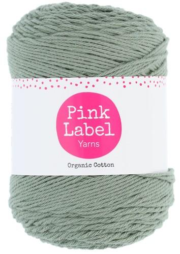 Organic Cotton Sjaal Haakpakket 2 Misty green