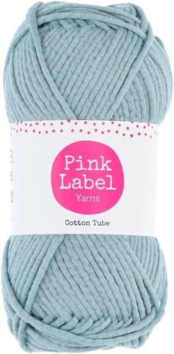 Cotton Tube Kabelkussen Haakpakket 1 Stone blue
