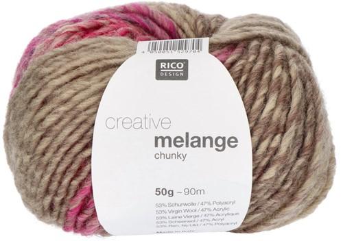 Rico Creative Melange Chunky 31 Rose-Green
