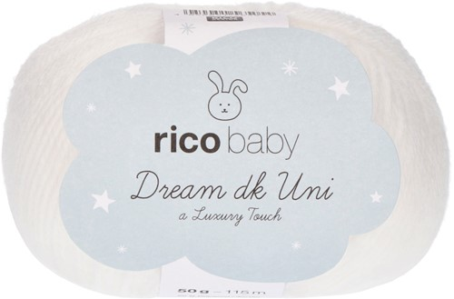 Rico Baby Dream DK Uni 001 White