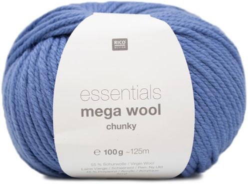 Rico Essentials Mega Wool Chunky 019 Azure