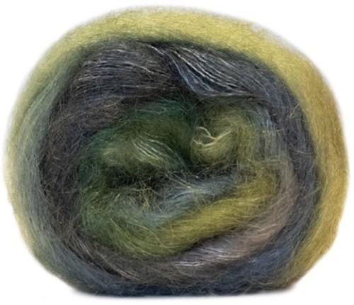 Essentials Super Kid Mohair Loves Silk Print Vest Breipakket 2 42/46