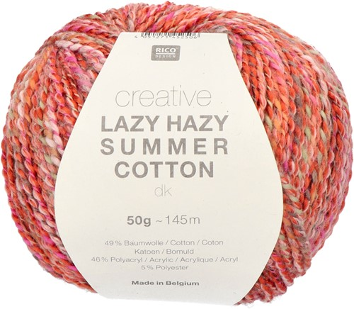 Rico Creative Lazy Hazy Summer Cotton dk 004 Red
