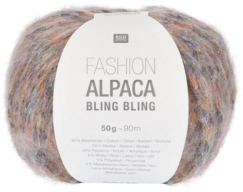 Rico Fashion Alpaca Bling Bling 002 Lilac