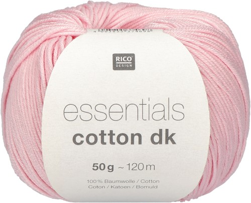 Rico Essentials Cotton dk 01 Rose