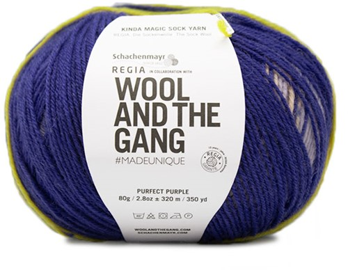 SMC Regia Pairfect Kinda Magic Sock Yarn Design Line by Wool and the Gang 4-PLY 6457
