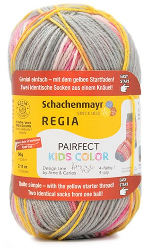 SMC Regia Pairfect Kids Color Design Line by Arne & Carlos 4-PLY 2983