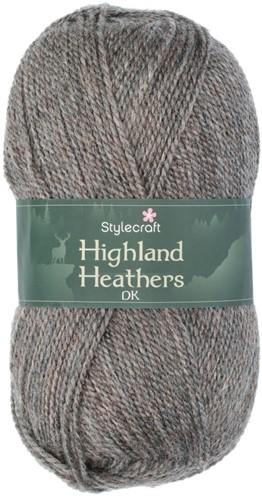 Stylecraft Highland Heathers DK 3742 Granite