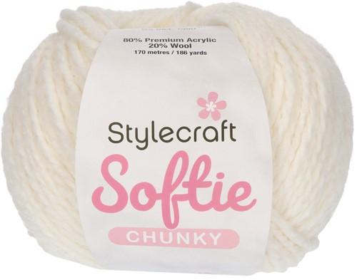 Stylecraft Softie Chunky 3982 Cream