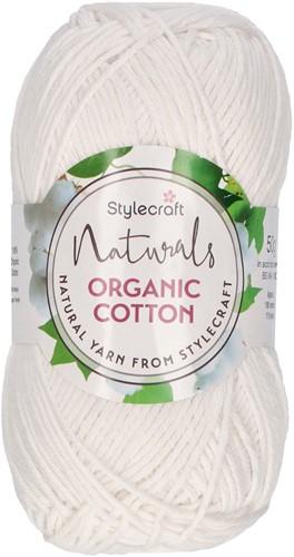 Stylecraft Naturals - Organic Cotton DK 7168 Gypsum