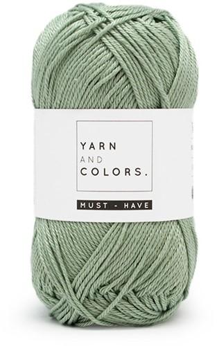 Yarn and Colors Foldable Net Bag Haakpakket 080 Eucalyptus