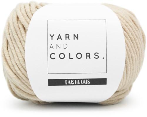 Yarn and Colors Boho WOW! Muurhanger Pakket 003 Ecru