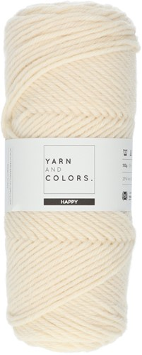 Yarn and Colors Happy 002 Cream