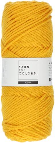 Yarn and Colors Maxi Cardigan Haakpakket 3 S/M Mustard