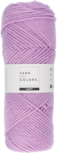 Yarn and Colors Maxi Cardigan Haakpakket 7 S/M Orchid