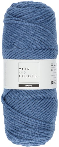 Yarn and Colors Maxi Cardigan Haakpakket 8 S/M Denim