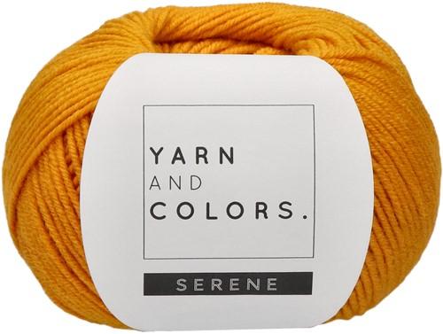 Yarn and Colors Criss Cross Dot Scarf Haakpakket 015 Mustard