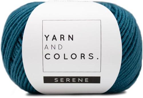 Yarn and Colors Criss Cross Dot Scarf Haakpakket 069 Petrol Blue