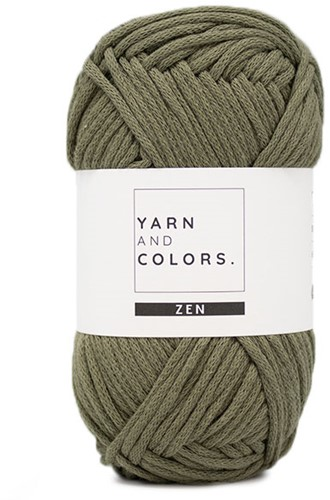Yarn and Colors Boho Plant Baskets Haakpakket 090 Olive