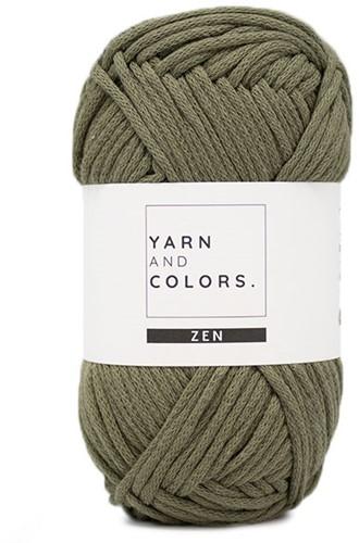 Yarn and Colors Boho Blanket Haakpakket 090 Olive