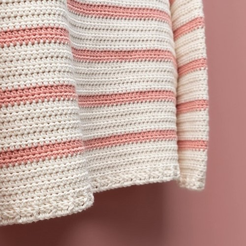 Yarn and Colors Classic Jumper Haakpakket 1 Old Pink L