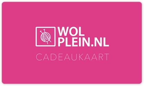 Wolplein.nl Cadeaukaart 25 euro + Luxe verpakking