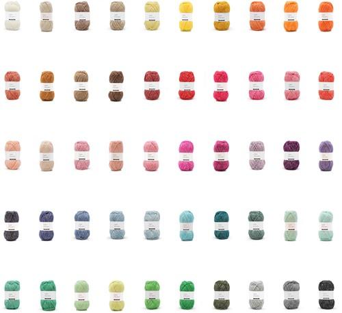 Yarn and Colors Charming alle kleuren pakket