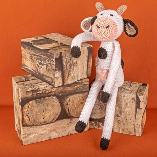 Yarn and Colors Clara Cow Haakpakket 001 White