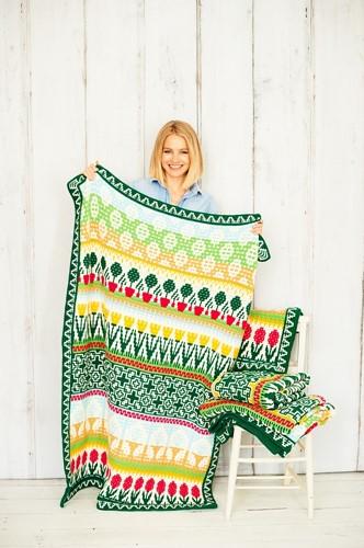 Letitia's Garden Blanket CAL Garenpakket 1 Cottage Garden S